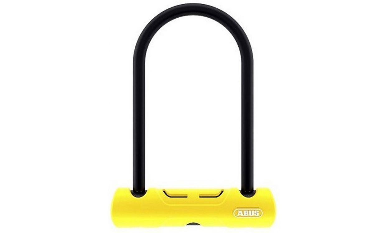 Велозамок ABUS 402/150HB160 Ultra Mini SH Black-Yellow