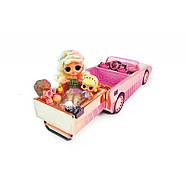 Игровой набор-сюрприз LOL Surprise Lights Кабриолет с эксклюзивной куклой ЛОЛ и аксессуарами 565222, фото 9