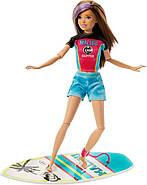 Лялька Barbie Dreamhouse Adventures Скіппер Серфингистка Спортивні сестри на шарнірах GHK36, фото 3