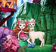 Игровой набор Enchantimals Большие друзья кукла Лама Ллуэлла и Флиси FRH42, фото 7