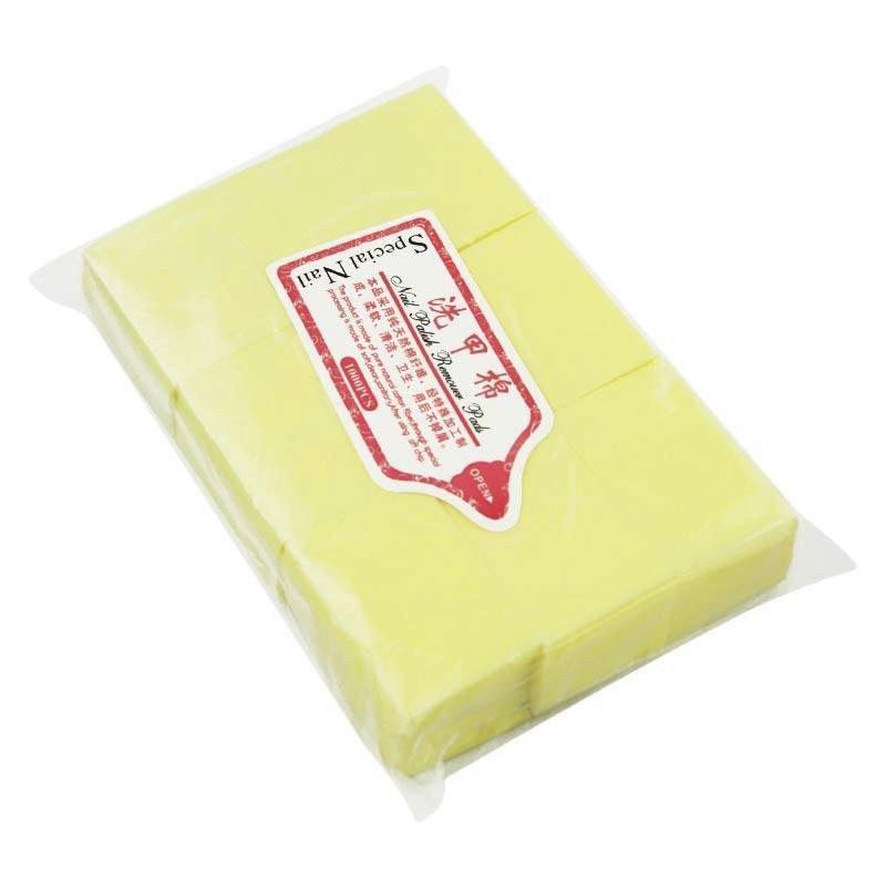 Салфетки безворсовые (плотные) желтые, 1000 шт.