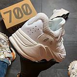 Женские кроссовки Adidas Yeezy Boost 700 V2 White, фото 2