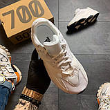 Женские кроссовки Adidas Yeezy Boost 700 V2 White, фото 3