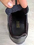 Мужские кожаные кеды Armani, фото 4