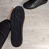 Мужские кожаные кеды Armani, фото 5