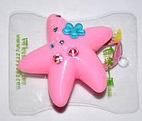 Звезда на резинке со стразами (20 шт), фото 1
