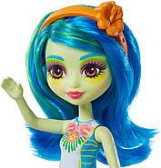 Лялька Enchantimals Жаба Тамика і вихованець Burst GFN43, фото 3