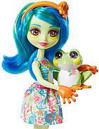 Лялька Enchantimals Жаба Тамика і вихованець Burst GFN43, фото 4