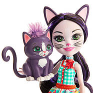 Кукла Enchantimals Кошка Клаймбер и котенок Сиеста GJX40, фото 2