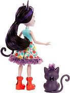 Кукла Enchantimals Кошка Клаймбер и котенок Сиеста GJX40, фото 5