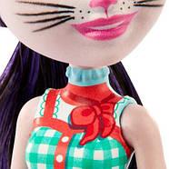 Кукла Enchantimals Кошка Клаймбер и котенок Сиеста GJX40, фото 6