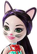 Кукла Enchantimals Кошка Клаймбер и котенок Сиеста GJX40, фото 7
