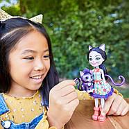 Кукла Enchantimals Кошка Клаймбер и котенок Сиеста GJX40, фото 8