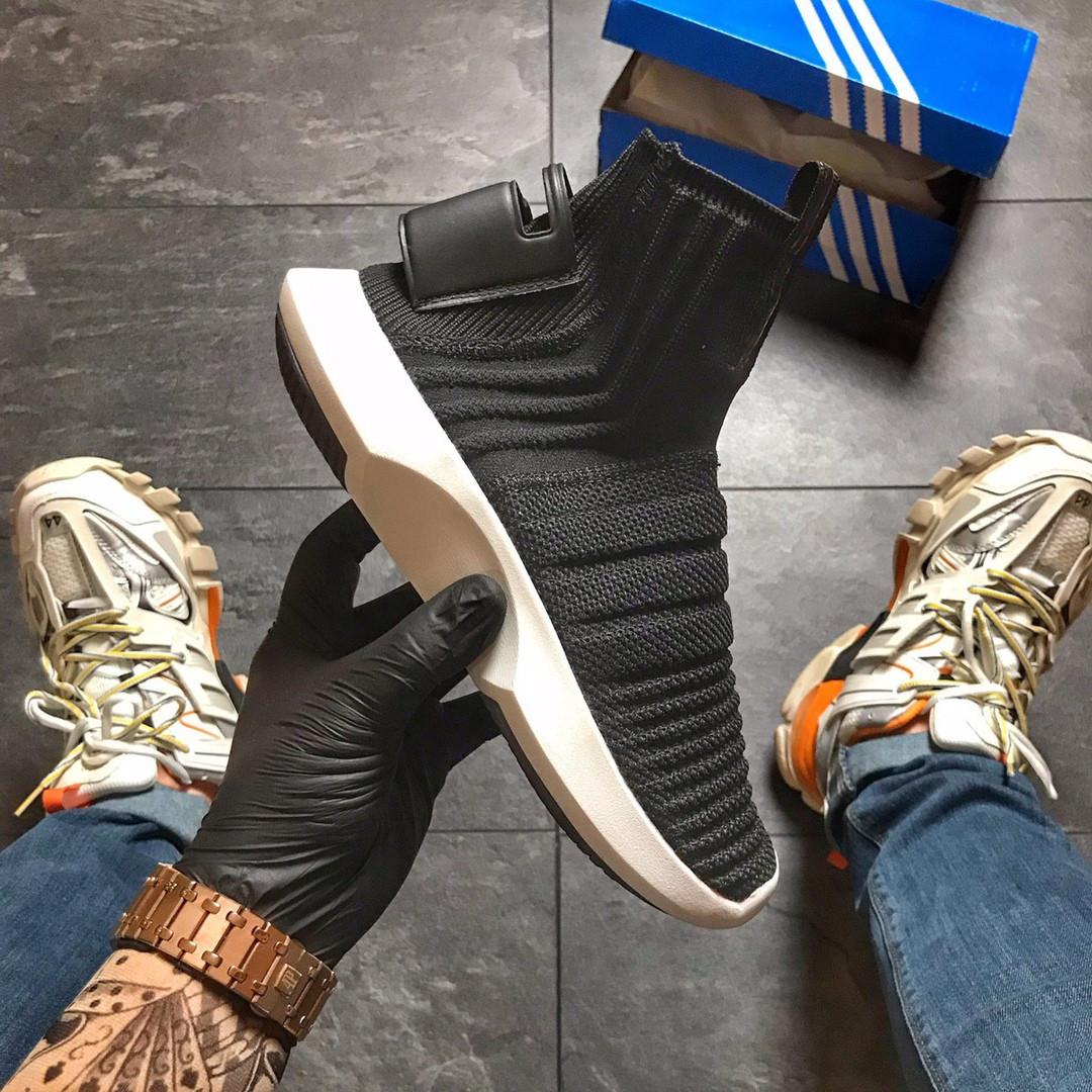 Кроссовки женские  Adidas Crazy 1 Adv Sock Primeknit