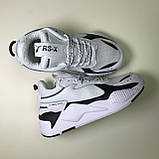 Puma RS-X Reinvention White Black, фото 3