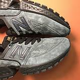 Кроссовки New Balance 574 Grey Black, фото 7