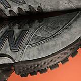 Кроссовки New Balance 574 Grey Black, фото 8