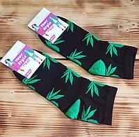 """Шкарпетки молодіжні """"Коноплі"""", розмір 38-40"""