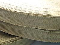 Лента киперная х/б 20 мм (хаки) 100 метров