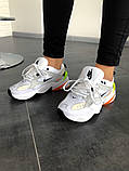 Кроссовки женские  Nike M2K Tekno Pure Platinum Black-Sail White, фото 2