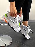 Кроссовки женские  Nike M2K Tekno Pure Platinum Black-Sail White, фото 3
