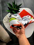Кроссовки женские  Nike M2K Tekno Pure Platinum Black-Sail White, фото 6