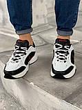 "Кроссовки мужские Nike Air Monarch IV ""Black/White"", фото 3"