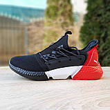 Кроссовки мужские Puma Hybrid Rocket чёрные с красным, фото 2