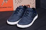 Мужские кожаные кеды Hilfiger Denim USA Blue, фото 7