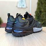 Кроссовки мужские Nike Air Max 720 Bowfin чёрные с зелёным, фото 3