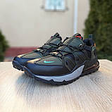 Кроссовки мужские Nike Air Max 720 Bowfin чёрные с зелёным, фото 4