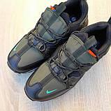 Кроссовки мужские Nike Air Max 720 Bowfin чёрные с зелёным, фото 5