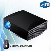 Проектор мультимедийный Full HD Wi-Fi стерео звук Vivibright Wi-light F30 домашний кинотеатр кинопроектор