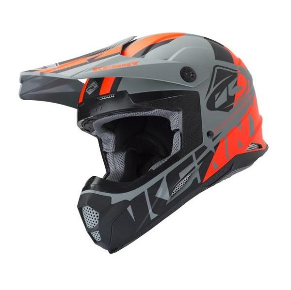 Шлем кроссовый Kenny Track 2019 Grey/Orange