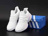 Мужские кожаные кроссовки Adidas Alphabounce Instinct, фото 3
