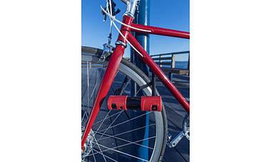 Велозамок ABUS Alarm 440A/150HB160 USH Black-Red, фото 3