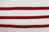 Шнур круглый 7мм 100м красный, фото 2