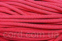 Шнур круглый 7мм 100м красный