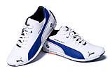 Мужские кожаные кроссовки Puma BMW MotorSport, фото 4