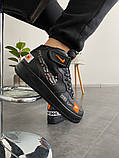 Мужские кроссовки Nike Air Force 1 High Just Do it Pack Black, фото 5