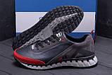 Мужские кожаные кроссовки FILA Tech Flex Blue, фото 8