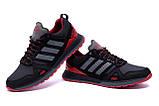Мужские кожаные кроссовки Adidas A19 Red Star, фото 4