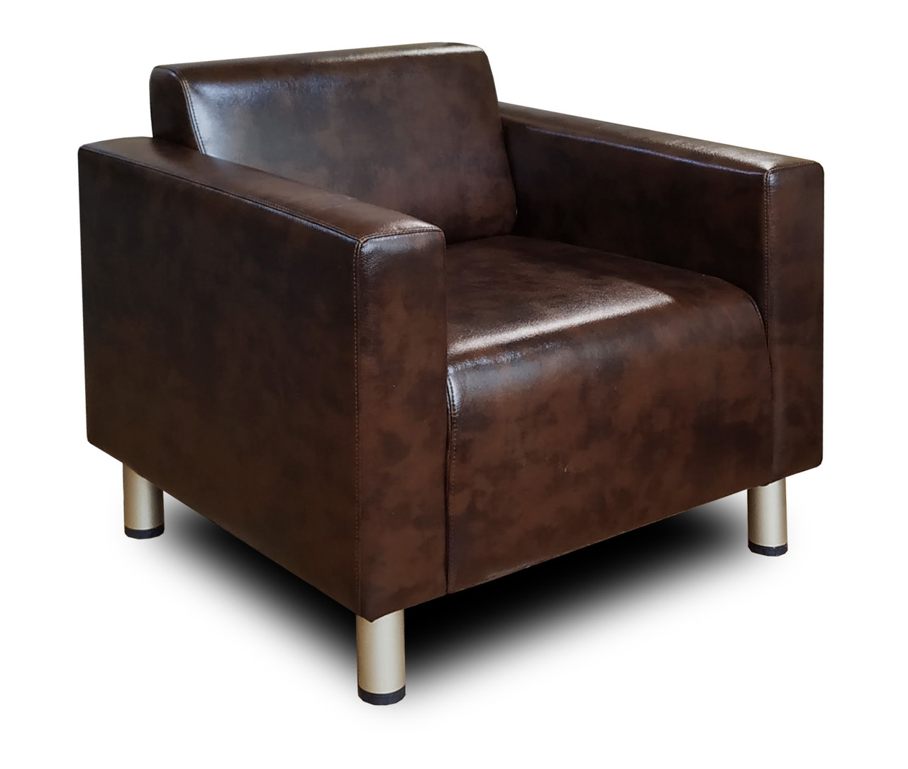 М'яке крісло офісне Кристал з підлокітниками - Купити