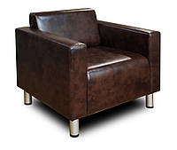 Мягкое кресло офисное Кристалл с подлокотниками - Купить