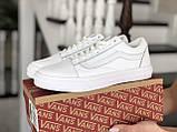 Кроссовки женские Vans белые, фото 4