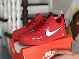 Кроссовки женские Nike Air Force красные, фото 3