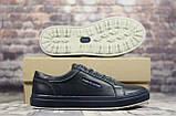 Мужские кожаные кеды, кроссовки Tommy Hilfiger  (Код:  24 син   ) ► Размеры [40,41,42,43,44,45], фото 3