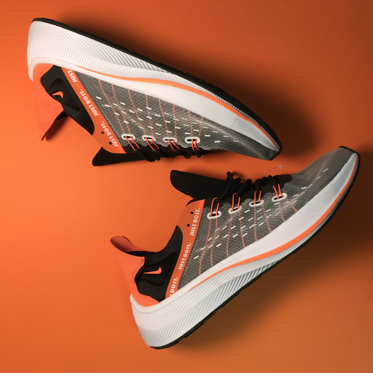 Nike EXP-X14 White Black Orange