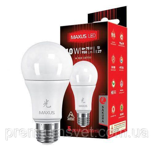 Лампочка светодилдная 1-LED-465-D//LED A60 10W 3000K 220V E27 AP