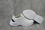 Женские кроссовки кожаные весна/осень белые Best Vak 19-06, фото 3
